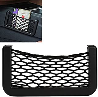 iTimo New Car Storage Net Automotive Pocket Organizer Bag for Mobile Phone Holder Auto Pouch Adhesive Visor Box Car Access...