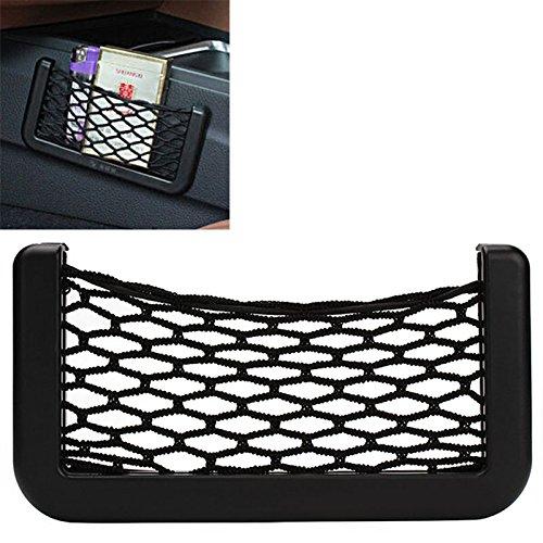 iTimo Auto-Aufbewahrungsnetz, Organizer, Tasche für Handyhalter, selbstklebende Visierbox, Autozubehör