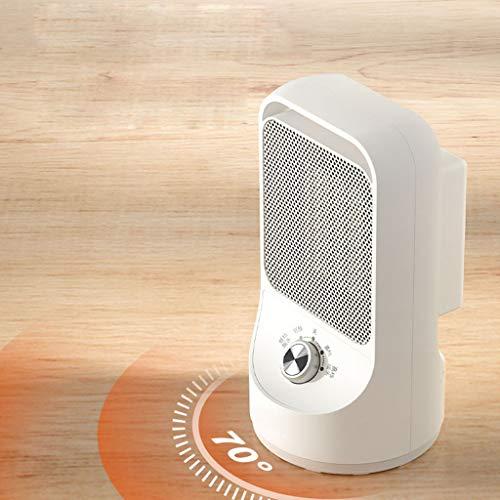 LDD-nfj Personal Stufa elettrica, 70 Gradi di Oscillazione, Il deposito e di surriscaldamento di Protezione per Office Desktop e Home Camere da Letto