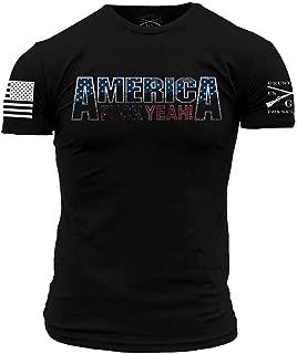Grunt Style America, FCK Yeah 2.0 Men's T-Shirt
