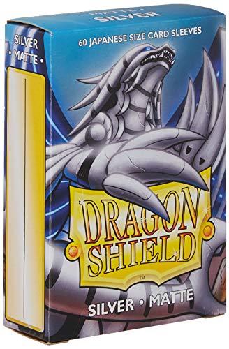 Sleeves: Dragon Shield Matte Japanese Silver (60)