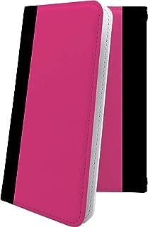 Xperia Z SO-02E ケース 手帳型 ピンク 桃色 おしゃれ エクスペリア 手帳型ケース かっこいい SO02E XperiaZ ボーダー マルチストライプ