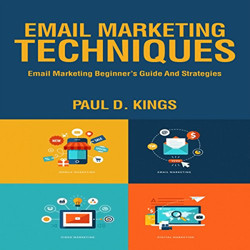 Email Marketing Techniques audiobook cover art