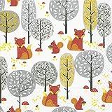 20 Servietten 33 x 33 cm Fuchs Eichhörnchen Waldtiere Herbst Tier Winter