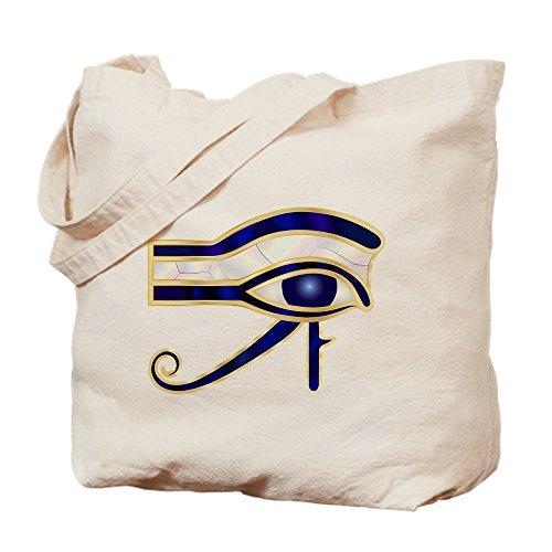 Truly Teague Tote Bag Egyptian Eye of Horus or Ra