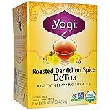 Yogi Tea Roasted Dandelion Spice DeTox 0.05 oz(Pack of 2)