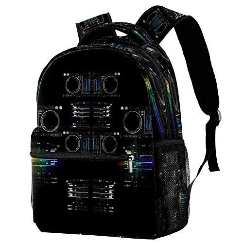Mochila escolar de dinosaurio, mochila para libros, informal, para viajes, estampado 8 (Multicolor) - bbackpacks004