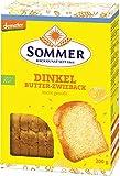 Sommer & Co. Bio Demeter Dinkel Butter-Zwieback (1 x 200 gr) -