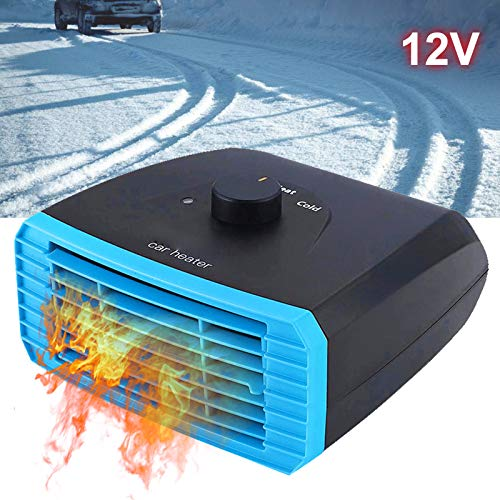 Best Prices! DZX 12v/24v Car Heater with Rotary Switch,3s Quick Heating,Windscreen Defroster Heater,...