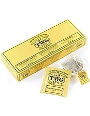 TWG Tea | Classic Selection, 3 tés clásicos en 15 bolsitas de algodón cosidas a mano en caja de regalo de 37,5g