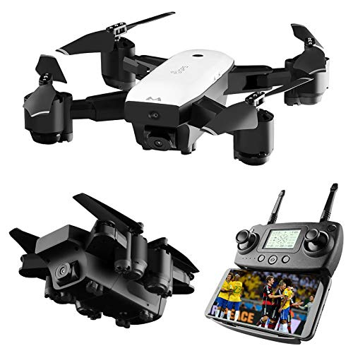 Mini GPS Drones with 1080p HD Camera, 5G WiFi FPV Live Video RC Quadcopter, Follow Me, GPS Auto Return,Dual Battery, Best Gift for Adults & Kids