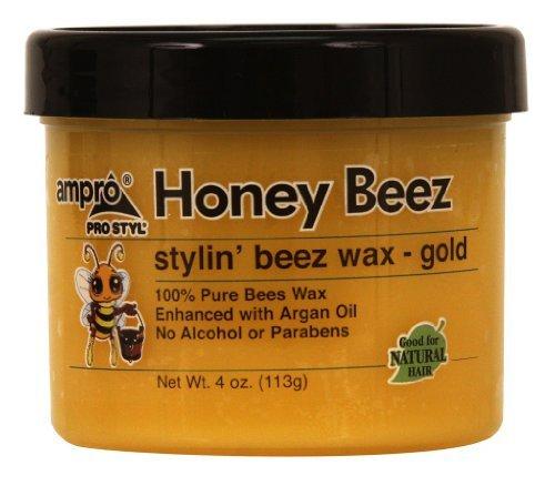 Ampro Honey Beez Stylin' Beez Wax Gold 4 Oz by AmPro