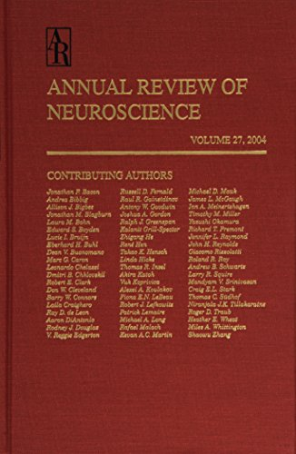 Annual Review of Neuroscience 2004