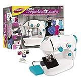JOUSTRA - Machine à Coudre à Pédale pour Apprendre à Coudre - Niveau Débutant - Loisirs Créatifs pour Enfants dès 8 ans