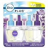 Febreze Plug in Air Freshener Scented Oil Refill, Mediterranean Lavender, 2 Count