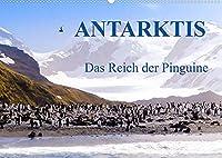 Antarktis - Das Reich der Pinguine CH-Version (Wandkalender 2022 DIN A2 quer): Antarktis - Lebensraum der Pinguine - Ein Blickfang im Buero und zu Hause (Monatskalender, 14 Seiten )