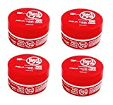 CIRE WAX REDONE POUR CHEVEUX ROUGE RED LOT DE 4 (4X150ML) AQUA HAIR WAX FULL FORCE