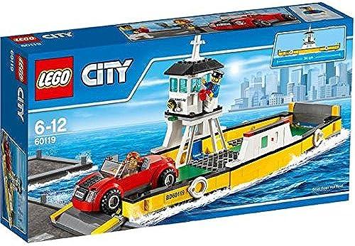 clásico atemporal LEGO City Ferry 60119 6 6 6 +  minorista de fitness