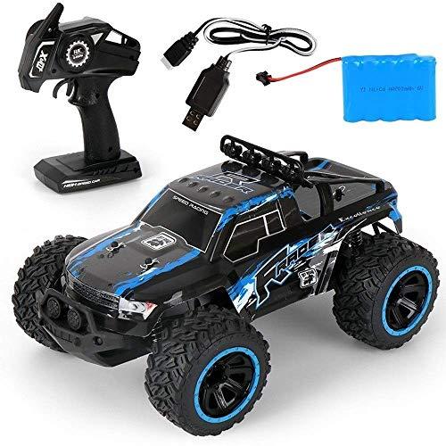 2.4G todo terreno RC Buggy, 1/14 de alta velocidad del monstruo RC Drift Racing de coches, amortiguadora de golpes inalámbrico Grandes neumáticos de camiones de carga USB RC, Navidad Niños control rem