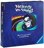 Ravensburger Familienspiel Nobody is perfect, Gesellschaftsspiel für Jugendliche und Erwachsene, für 3-10 Spieler, Brettspiel ab 14 Jahren