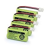 Geilienergy BT183342 BT283342 BT166342 BT266342 BT162342 BT262342 Battery Compatible with VTech CS6114 CS6419