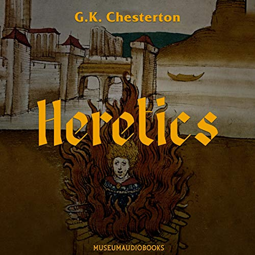 Heretics audiobook cover art