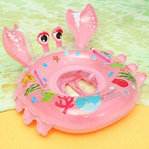 UCLEVER Bébé Siège Crabe Gonflable Infant Bouée sous Le Bras Anneau Bath avec...
