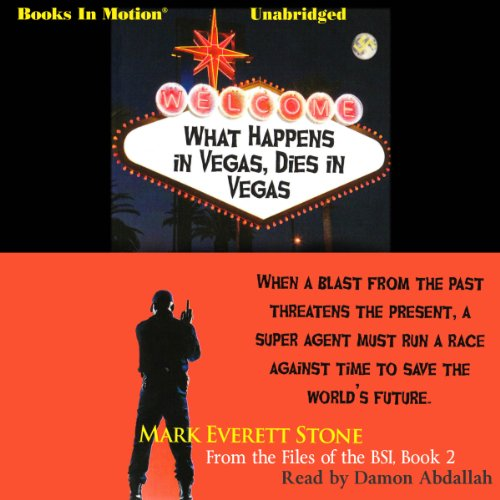 What Happens in Vegas, Dies in Vegas audiobook cover art