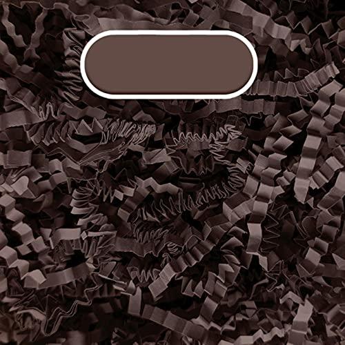 SHIYANTQ 100g de papel arrugado de color rafia triturado relleno para cajas de boda fiesta de cumpleaños caja de regalo de embalaje de relleno de papel plegable decoración
