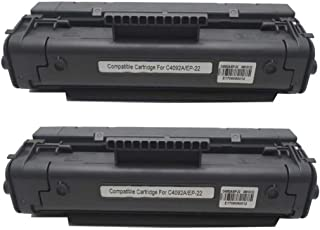 No-name Compatible 2 Pack High Yield Black Toner Cartridge Replacement for Canon CRG 912 312 712 112 CRG-912 CRG-312 CRG-712 CRG-112 LBP3010 LBP3100 LBP3150 LBP-3018 LBP 3018 3010 3100 3150 Printer