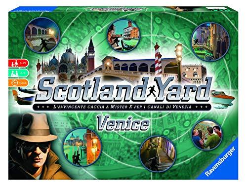 Ravensburger 26794 Scotland Yard Venezia, Versione Italiana, Edizione Limitata, 2-6 Giocatori, Età Raccomandata 8+