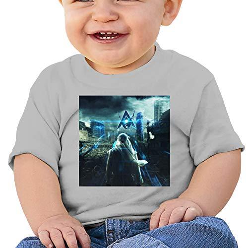 Baby Ala_n Walke_r Basic shirt met korte mouwen, SOFE, Katoen, Memorial Gift Zwart