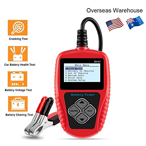 For Sale! MDYHJDHYQ Car Tester Car Battery Tester 12V Digital Battery Tester Analyzer 100 2000CCA 22...