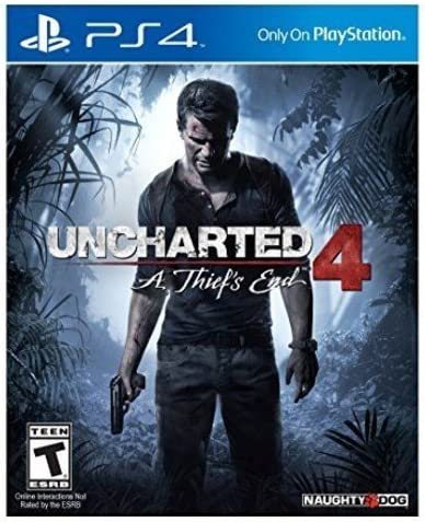 Uncharted 4 A Thief's End (PS4)