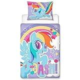 My Little Pony Crush Panel Junior Cot Bed Duvet Quilt Cover Set