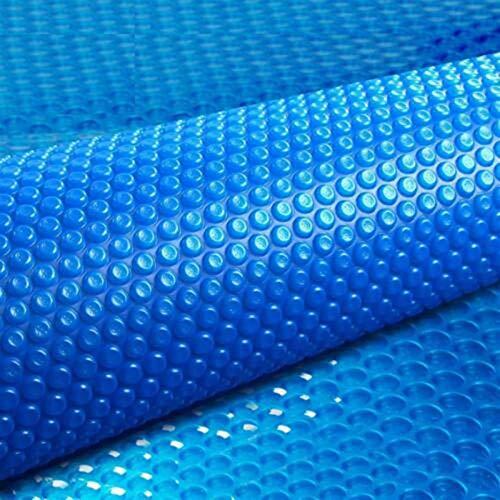 JLXJ Cobertor Solar Piscinas Rectángulo Cubierta de Piscina Solar, Tarea Pesada Impermeable...