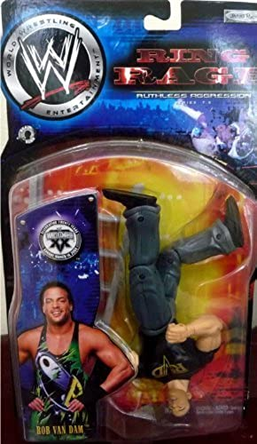 WWE Wrestling Ruthless Aggression Series 7.5 Ring Rage RVD Rob Van Dam Action Figure by Jakks Pacific