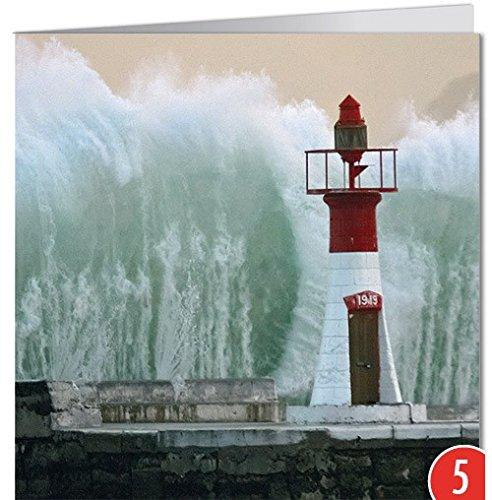 -5-er Packung: Grußkarte GEO von modern times +++ GEWALTIGES TREFFEN +++ BK-EDITION GEO © picture alliance/epa/BOTHMA, Nic