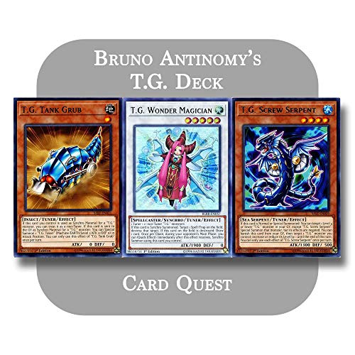 Yu-Gi-Oh! 5D's - Bruno Antinomy's Complete T.G. (Tech Genius) Synchro Deck