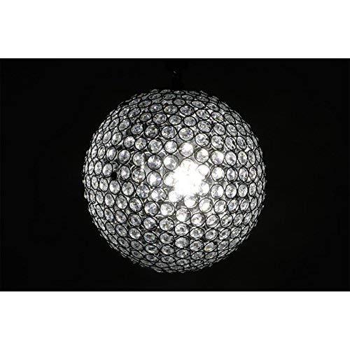 bedibuy Kristall Deckenleuchte LED Kugel Rund Handgefertigt 350mm A++ AL-0092 Wohnen - Lüks Kristal EL Yapımı Led Avize Küre A++ 35 cm