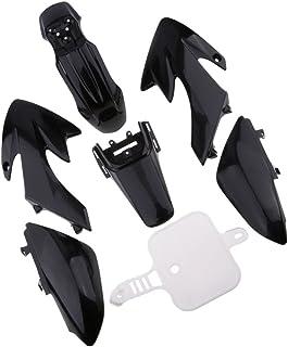 Baoblaze 1 Set Verkleidung Kit für Honda 50 CRF50 50cc 110cc 120cc 125cc Pit Bike Motorräder, Ersatzteile und Zubehör