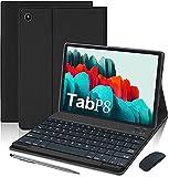 Tablette Tactile 10.1 Pouces 4G WiFi Tablettes avec Android 10.0 64Go ROM et 4Go de RAM 8500mAh Tablette PC Portable Pas Cher Quad Core GMS Double SIM/Caméra OTG (Standard + Clavier et Souris, Noir)
