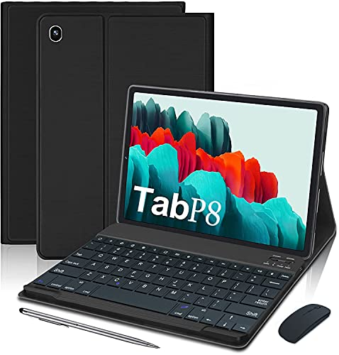 4G Tablet 10.1 Pollici con WIFI Offerte Android 10.0 Quad Core 4GB RAM 64GB ROM Fino a 128GB 8000mAh WIFI Tablet PC Offerte DUODUOGO 1920*1200 Dual SIM Camera OTG (Standard + Tastiera e Mouse, Nero)