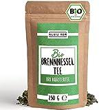 Brennesseltee Bio 250 Gramm - Brennessel Tee I 100% natürlich aus Biologischem Anbau by KLUIZ TEA