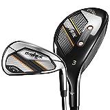 Callaway Golf 2020 Mavrik Hybrid Iron Combo Set (Set of 7 Clubs: 5H, 6IR - PW, AW, Left Hand, Steel, Stiff)