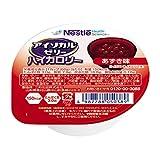 Nestle(ネスレ) アイソカル ゼリー ハイカロリー HCあずき味 ( 飲みやすい 高カロリー エネルギー ゼリー ) 栄養補助食品 介護食 (24個入)
