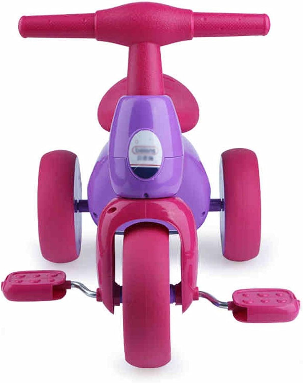 Unbekannt FEI Babyspielzeug Kinderfahrrad 3-6 Jahre - Neu Frühe Erziehung (Farbe   Lila)