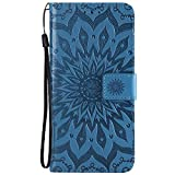 Samsung J4 Plus Case 2018, Shockproof PU Leather Flip