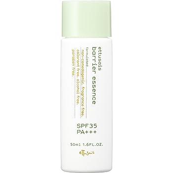 エテュセ バリアエッセンス 日中用プロテクター 日焼け止め 花粉・ちり・ほこり対策 敏感肌用 SPF35・PA+++ 50ml