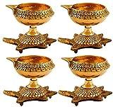 Desconocido Presenta Sataanreaper Brass Diya (Oro) # SR-360